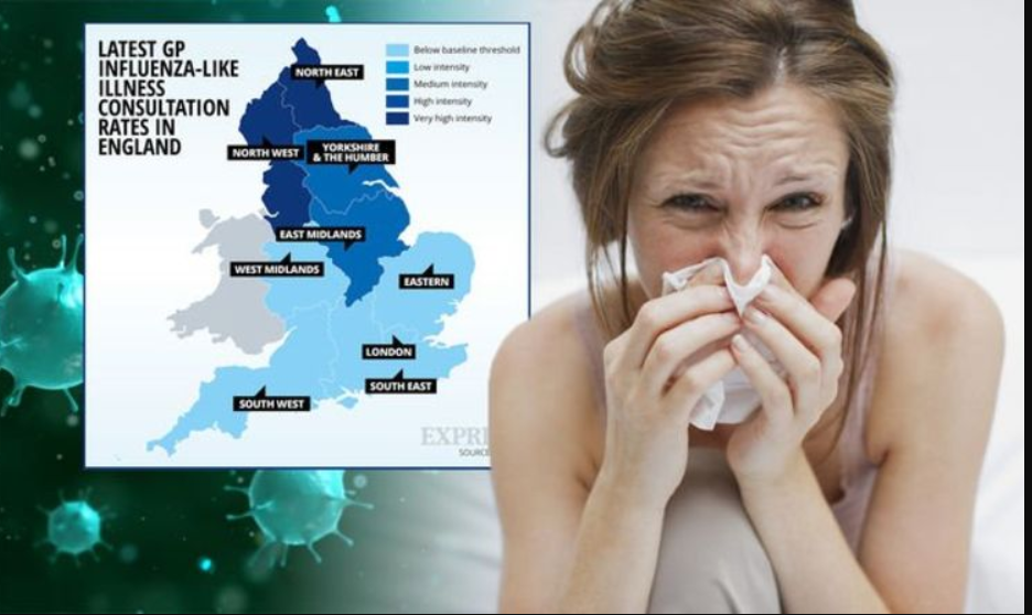 Get your jab': Public Health England North West says flu Cases are on the rise