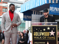 Eminem Pays Tribute to 50 Cent at Hollywood Walk of Fame Ceremony