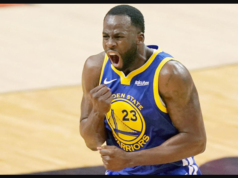 LeBron James laughs as Draymond Green gets ejected following two technical fouls in 11 seconds
