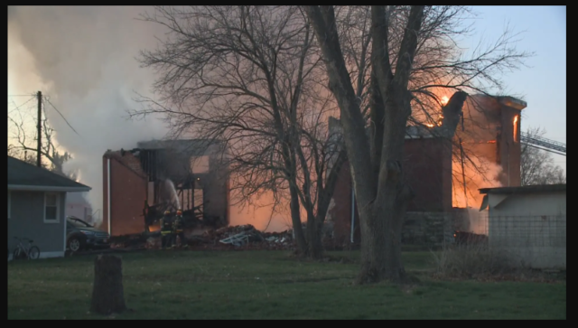Early Morning Blaze Destroys Pleasantville Church