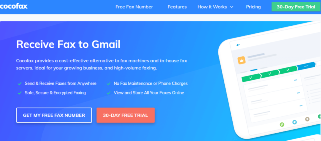 CocoFax Is Here For You So That You Can Fax By Email Easily